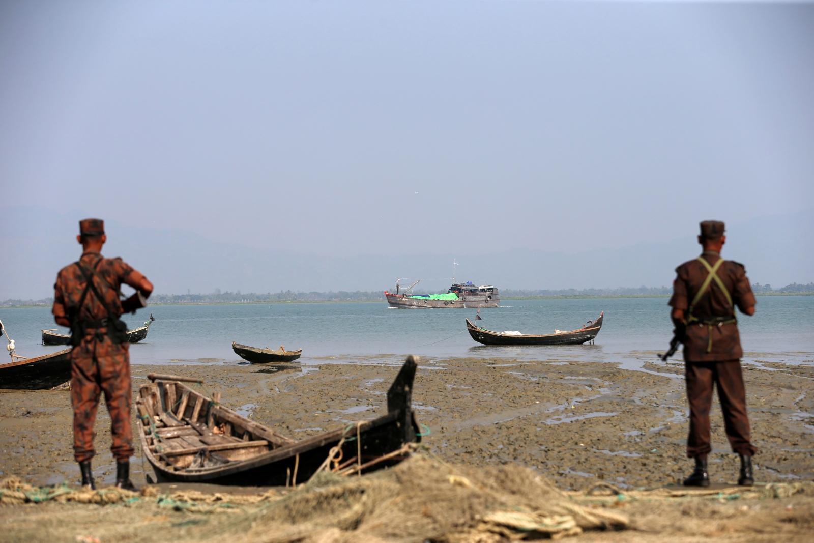 Myanmar Bangladesh border