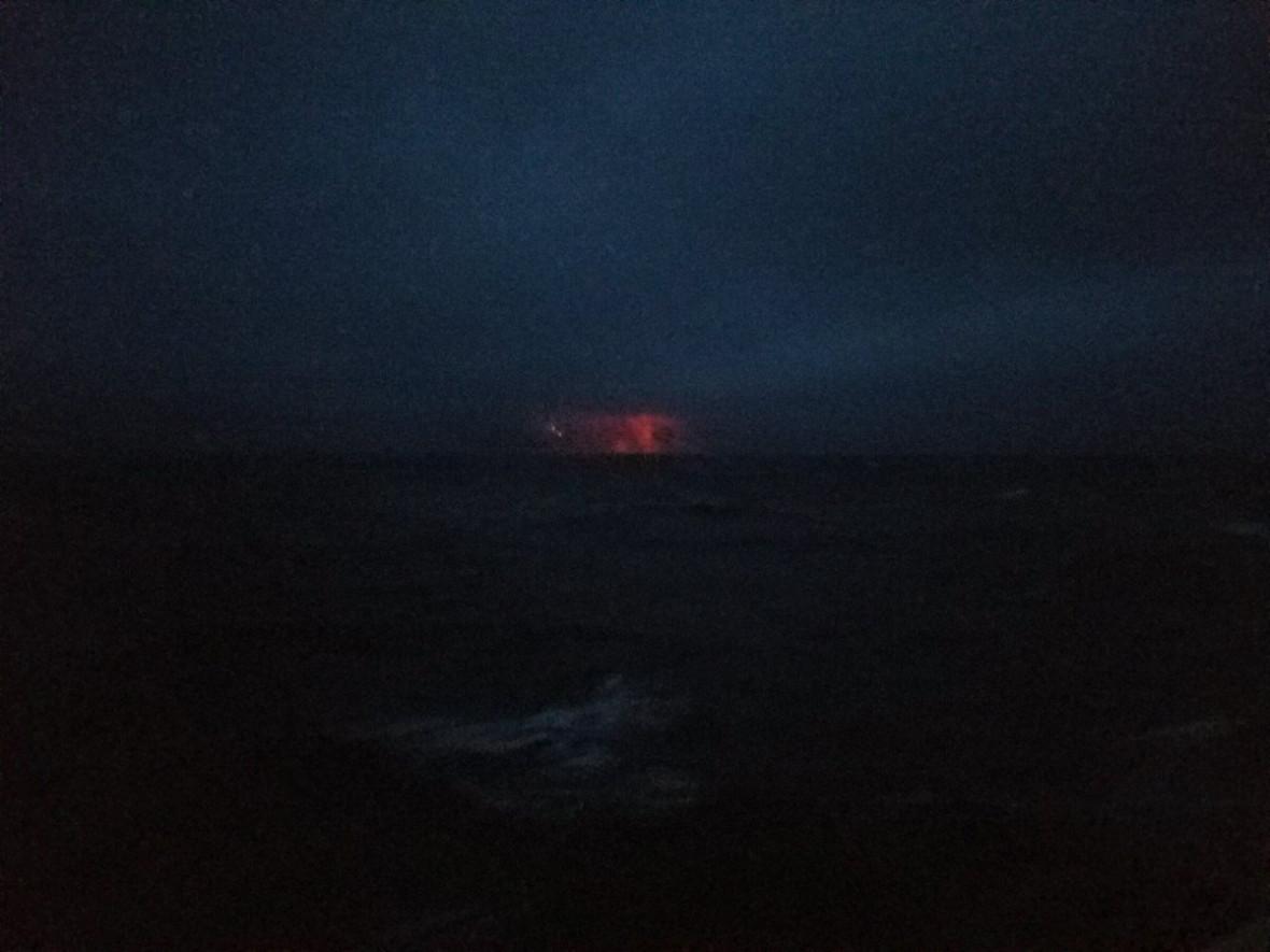 Bogoslof erupts