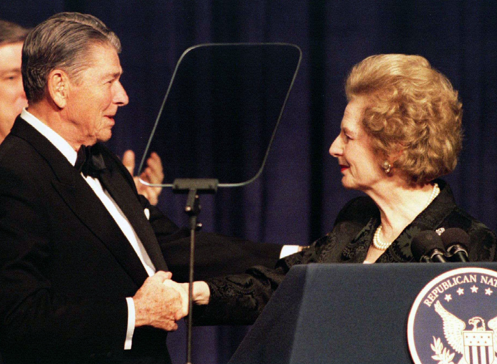 Ronald Reagan Margaret Thatcher 2000