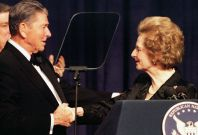 Ronald Reagan Margaret Thatcher 2000