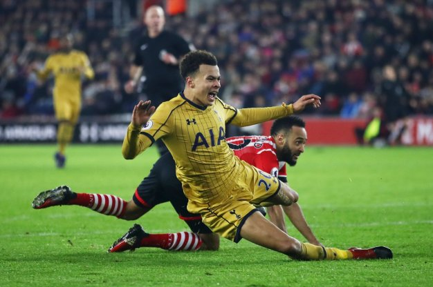 Nathan Redmond and Dele Alli