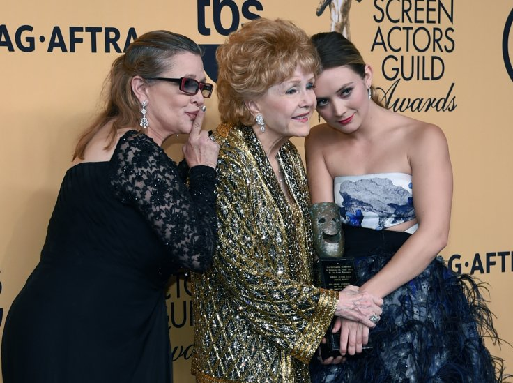 Carrie Fisher and Debbie Reynolds dead