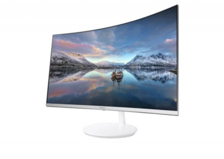 Samsung new Quantum Dot curved monitor