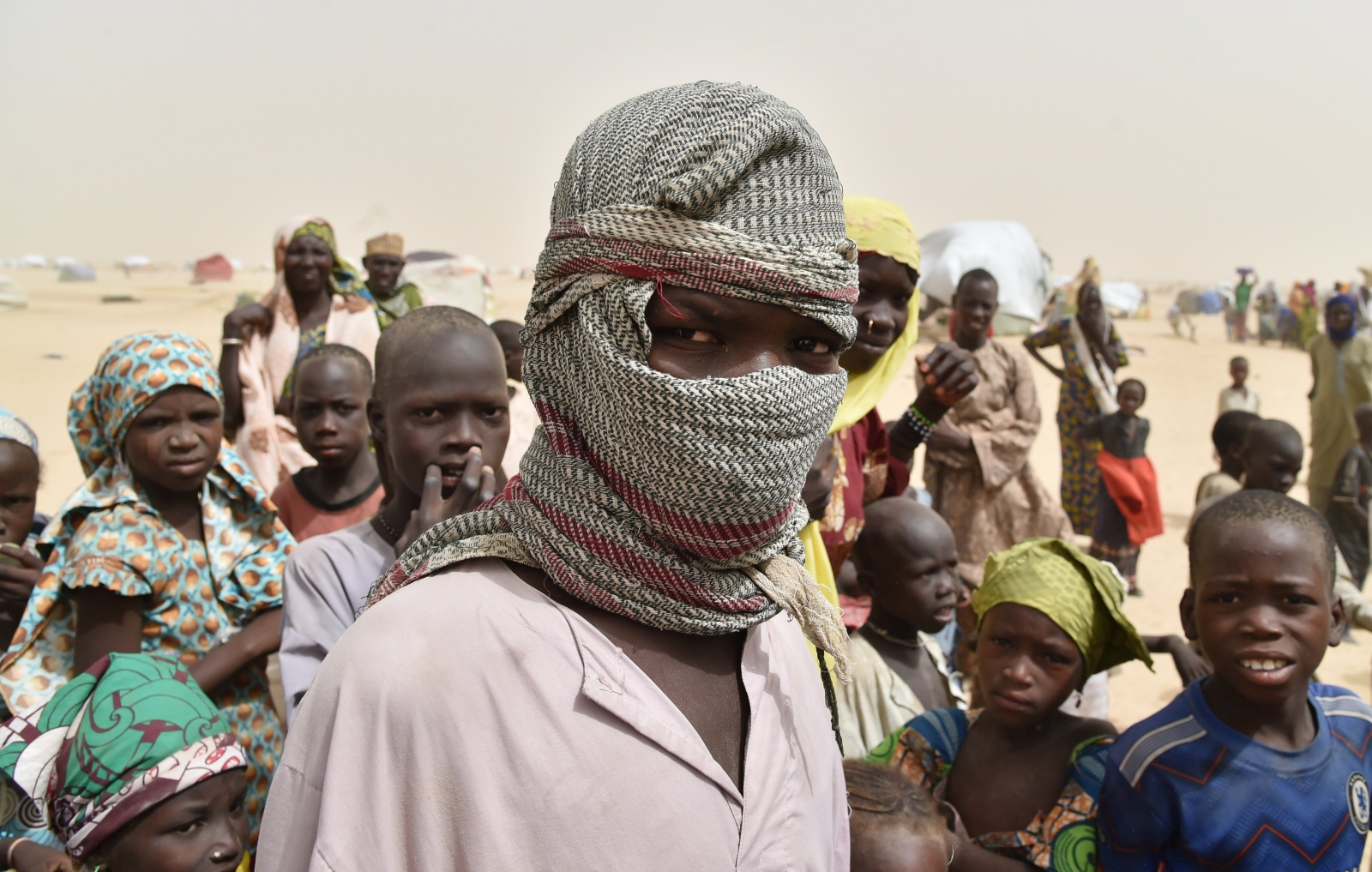 Fleeing Boko Haram in Niger