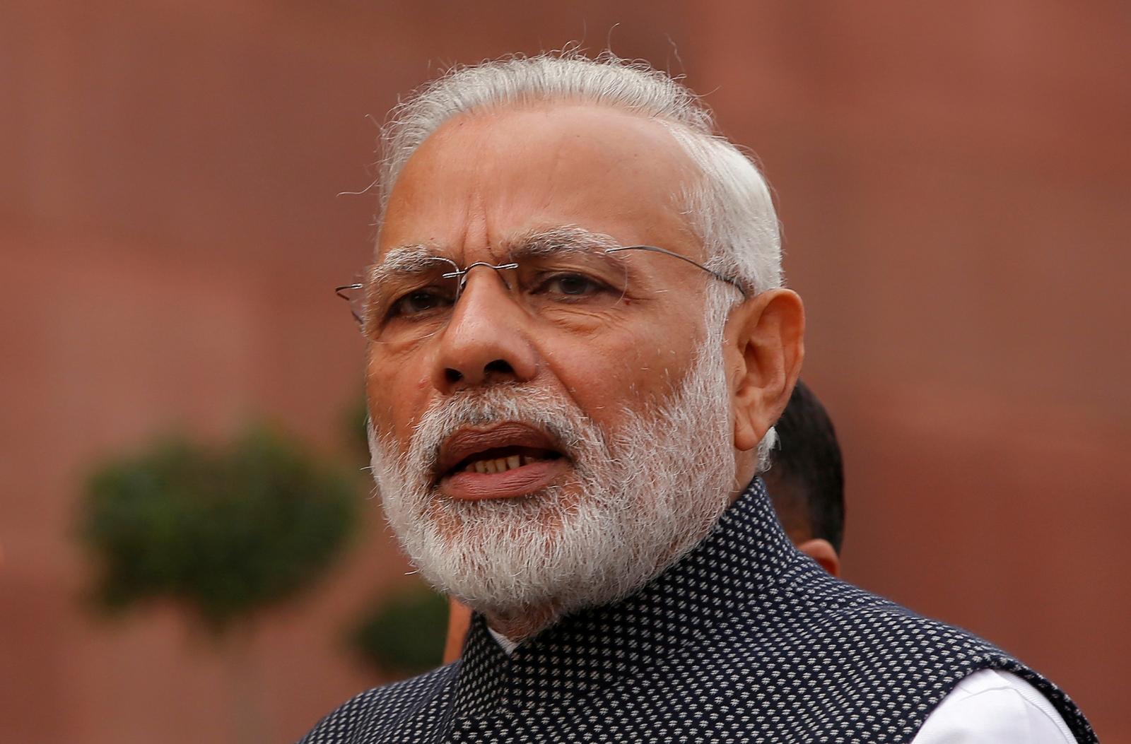 Narendra Modi address New Year