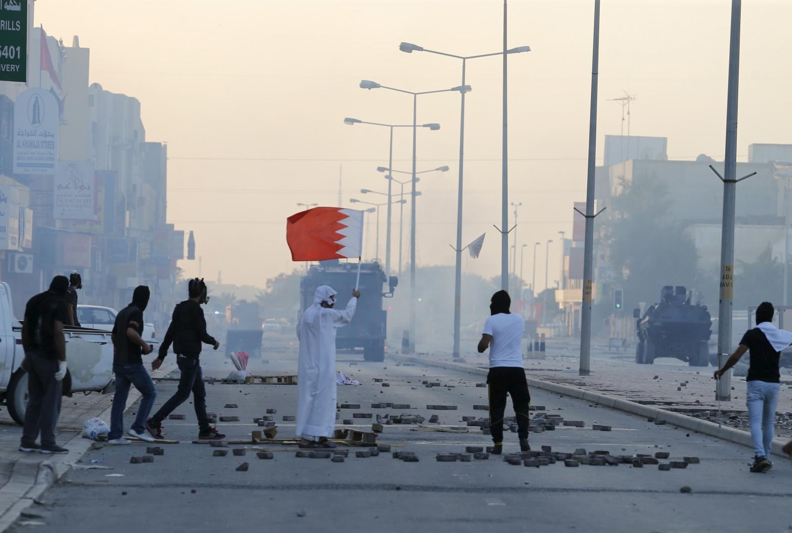 Bahrain shooting