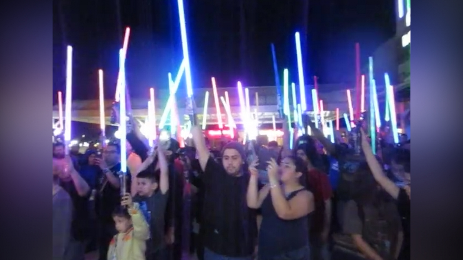 Lightsaber vigils held for Carrie Fisher across the US