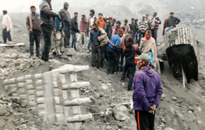 India coal mine accident