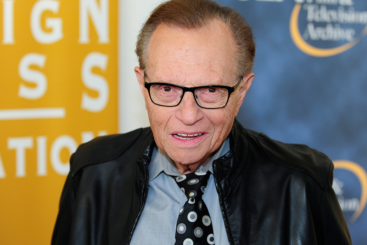 Larry King denies groping Eddie Fisher's ex-wife Terry Richard