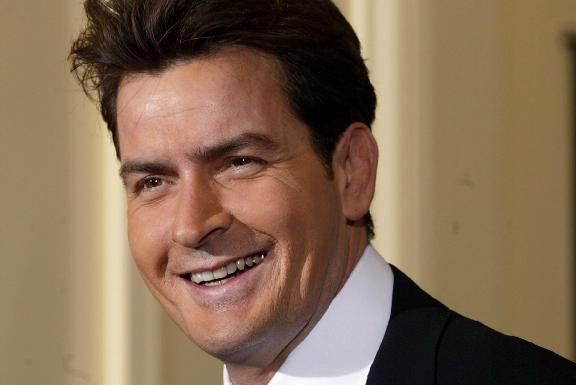 Charlie Sheen asks God to kill Trump
