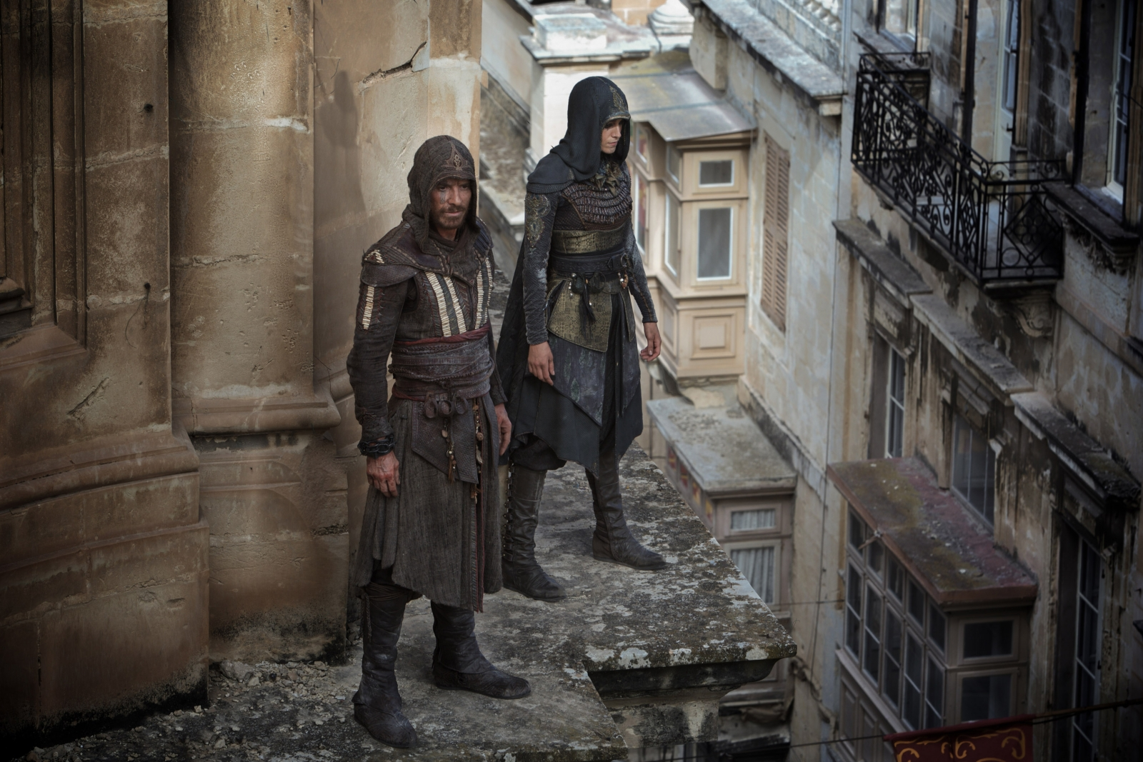 Assassin's Creed film Aguilar and Maria