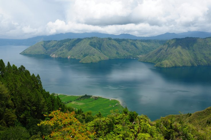 lake toba supervolcano
