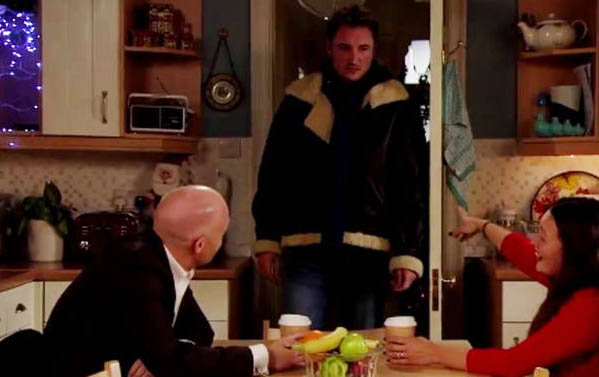 EastEnders Max Branning and Stacey Slater