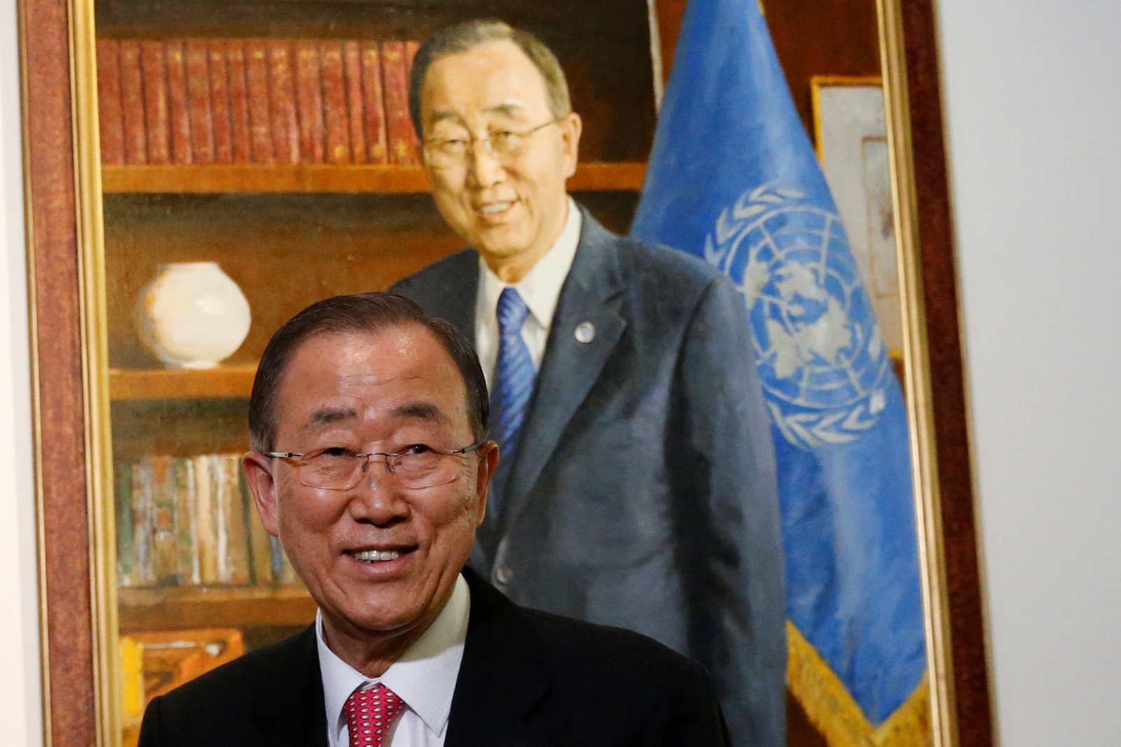 Outgoing United Nations Secretary General Ban Ki-moon