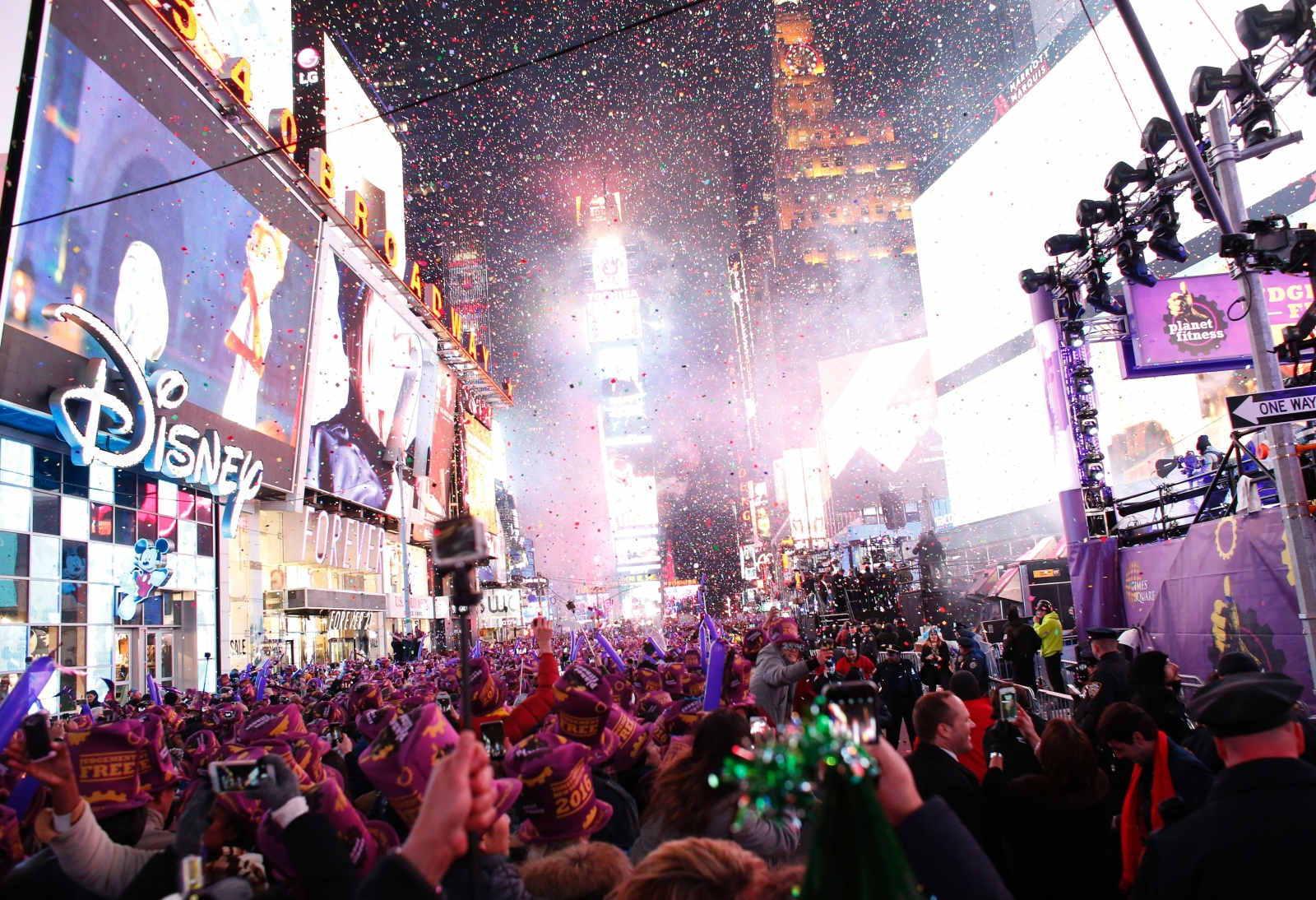 New York Times Square Ball Drop