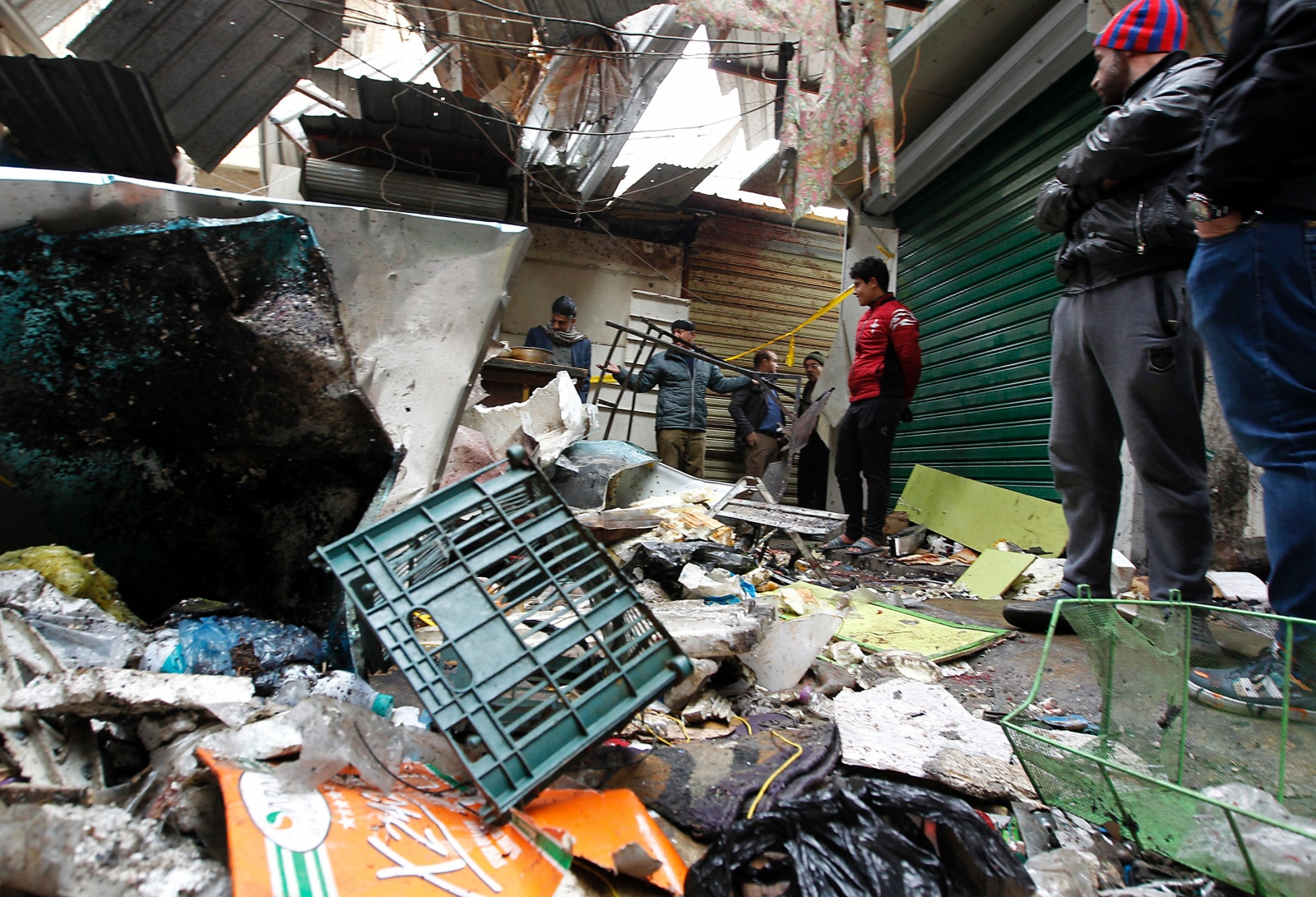 Baghdad explosions