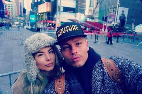 Olivia Buckland and Alex Bowen
