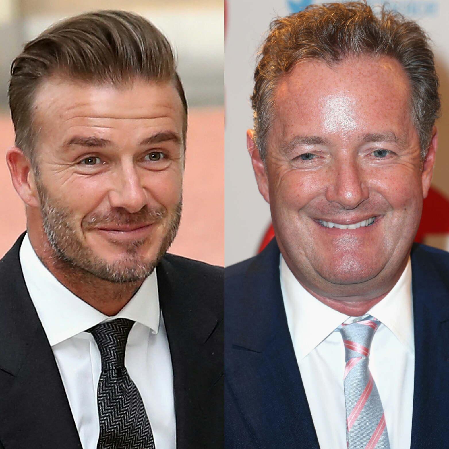 David Beckham Piers Morgan