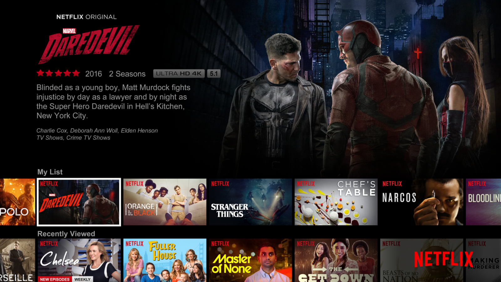 Netflix best entertainment product 2016 technology awards
