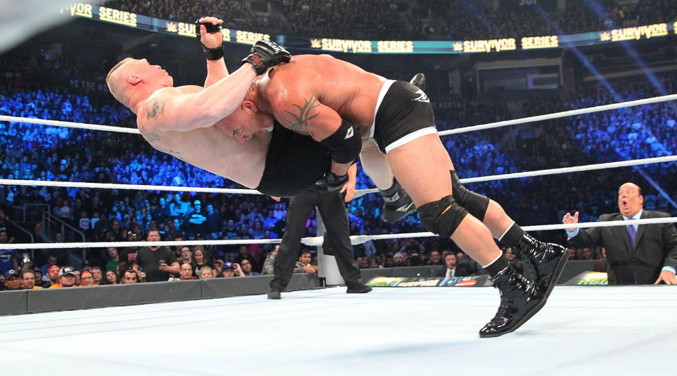 Brock Lesnar vs Goldberg
