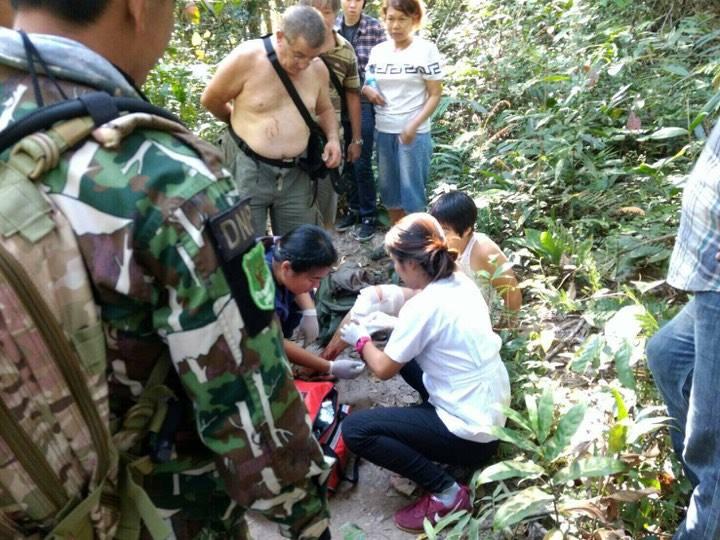 Woman treated for crocodile bite