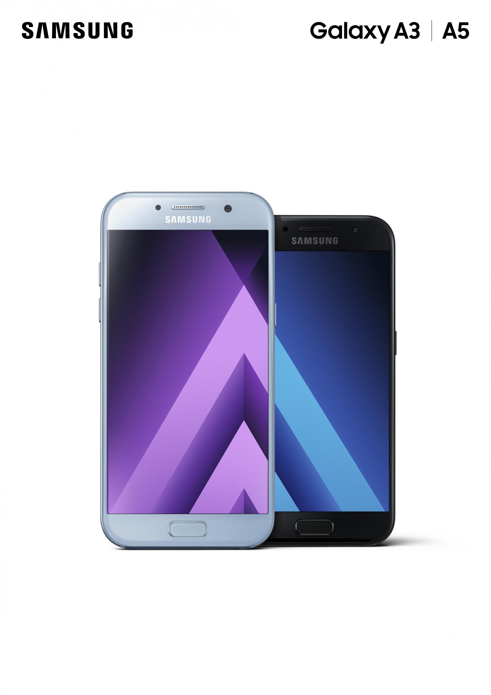 Galaxy A3 (2017) and Galaxy A5 (2017)