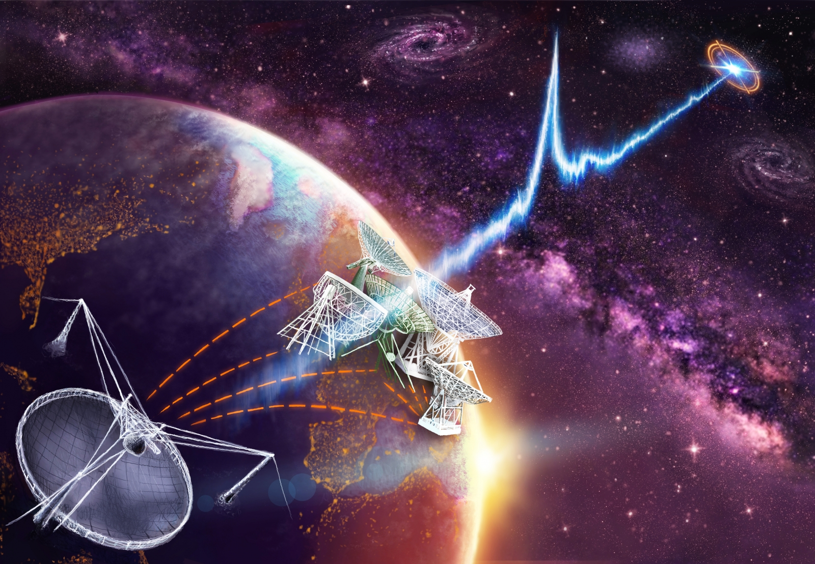 Source of Mysterious 'Fast' Radio Signals Pinpointed, But What Is It?