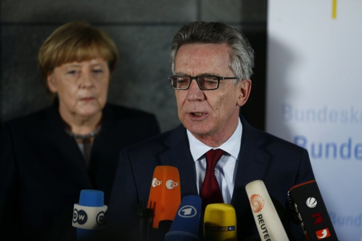 Angela Merkel and Thomas de Maiziere