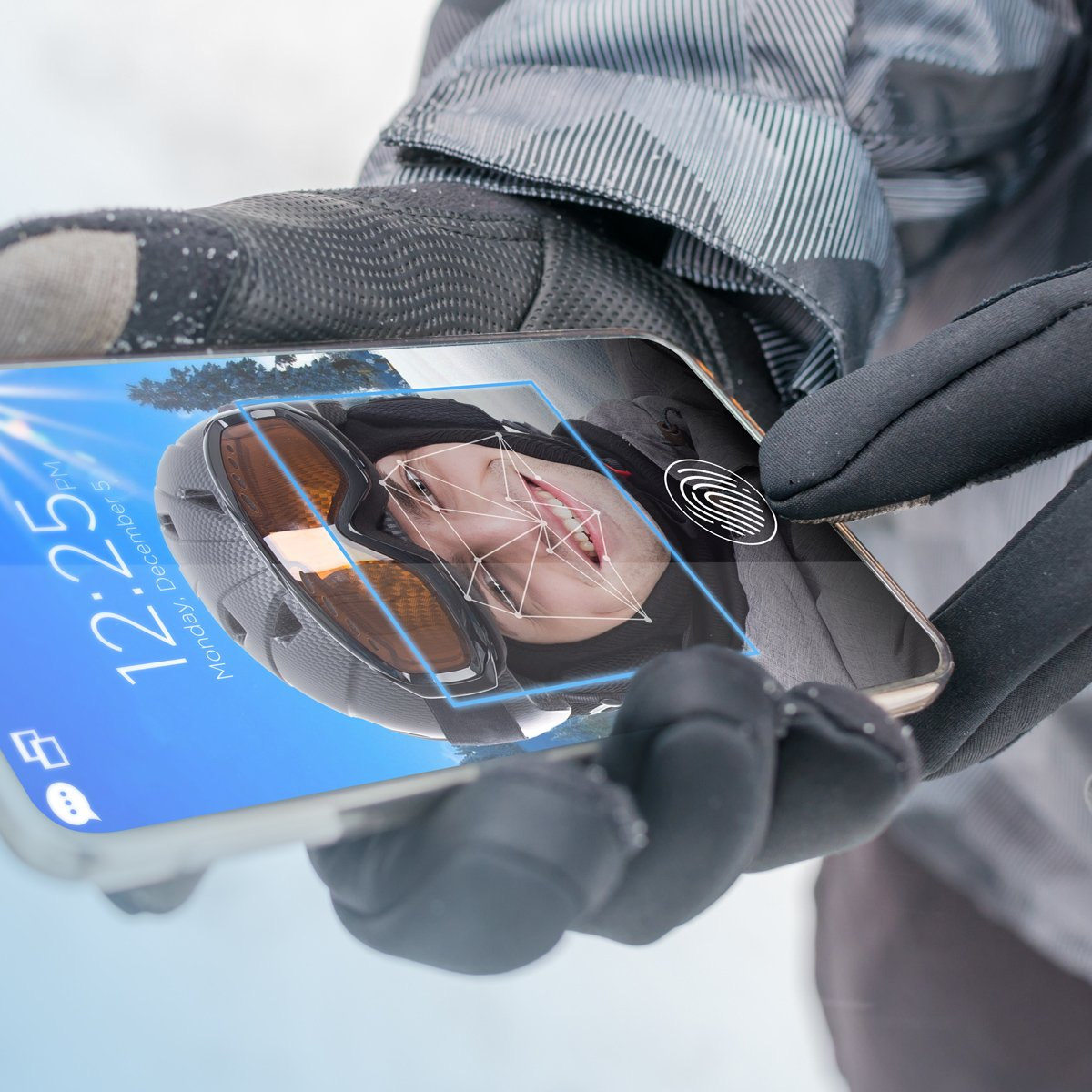 Synaptics fingerprint facial recognition