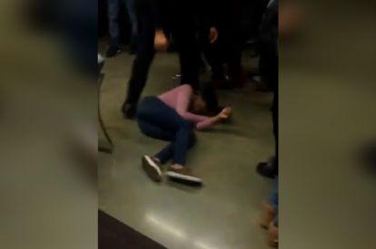 Teen girl slammed to floor
