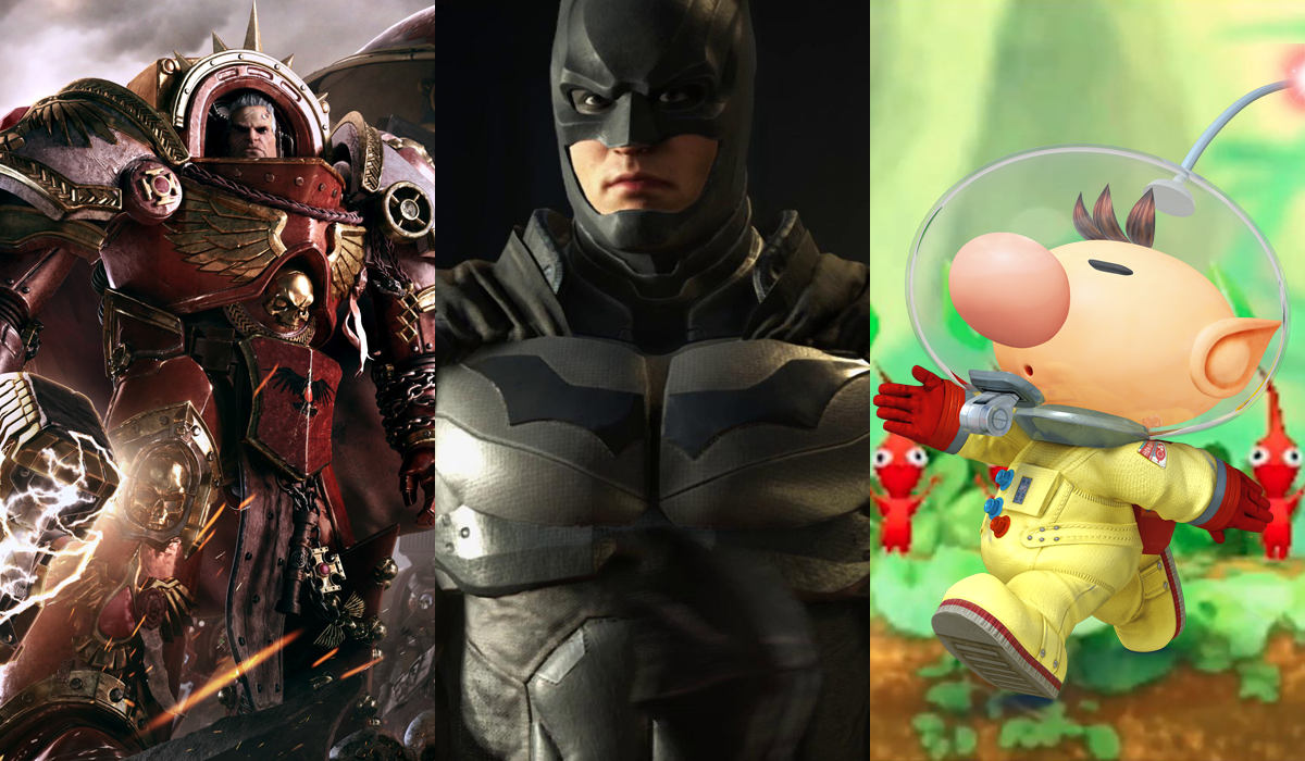 Video Game Preview Batman Warhammer Pikmin