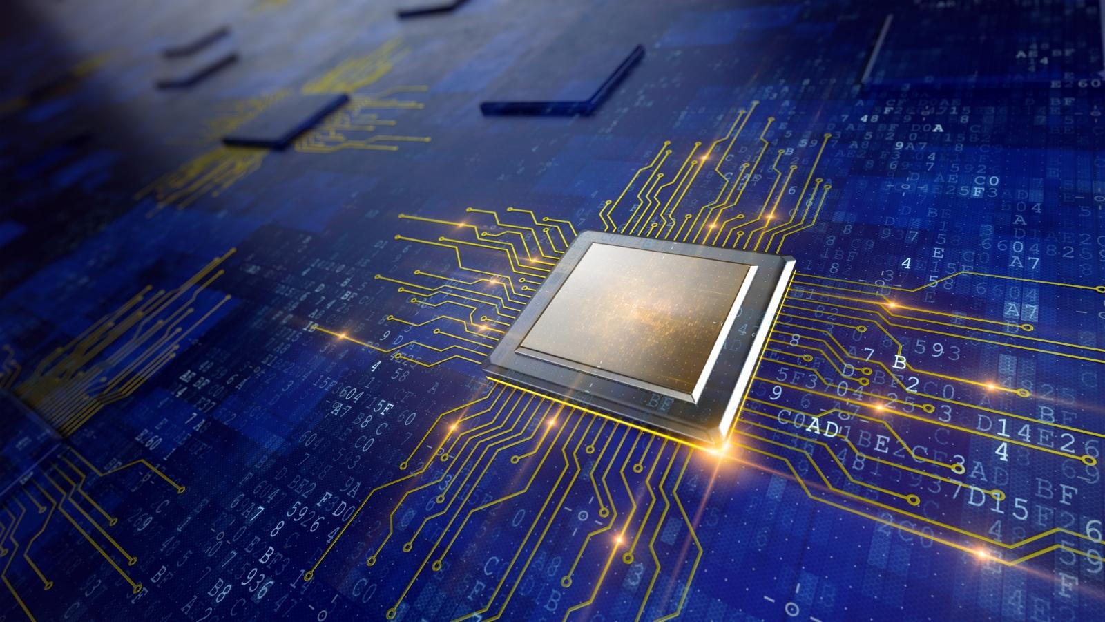 A central computer processor