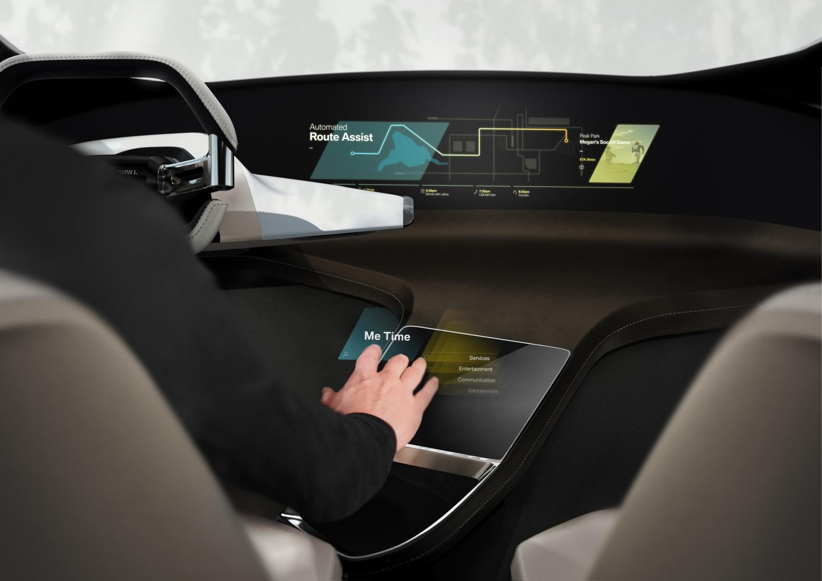BMW car of future CES 2017