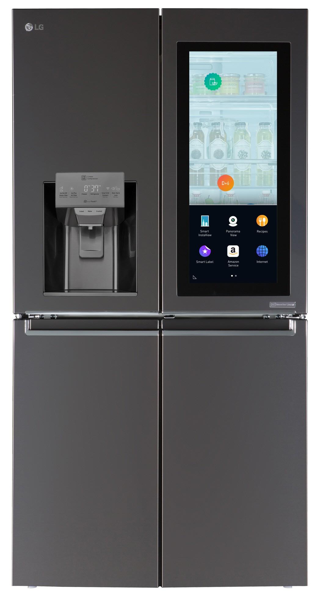 LG Smart Instaview Door-In-Door Refrigerator