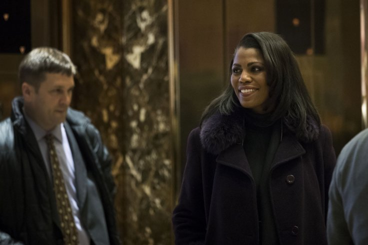 Omarosa Manigault at Trump Tower