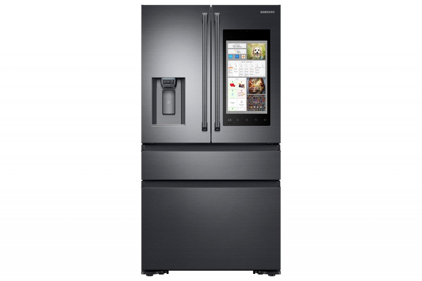 Samsung CES 2017 smart fridge Family Hub
