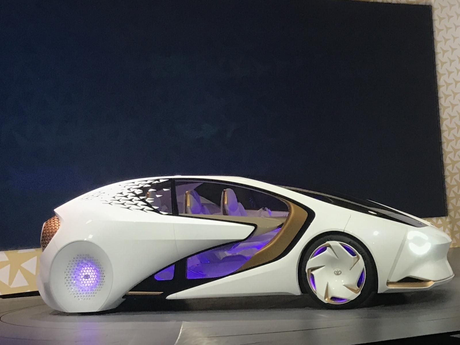 Toyota Concept-i car AI CES 2017