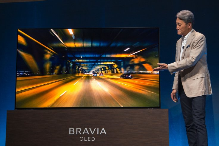 A Sony TV being launched