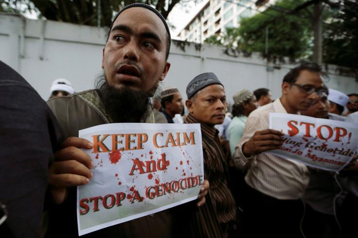 Myanmar's crackdown on ethnic Rohingya Muslims