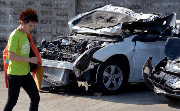 Thai road accident
