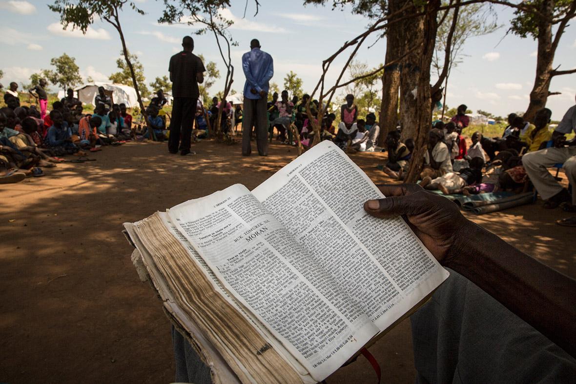 South Sudan refugees Uganda