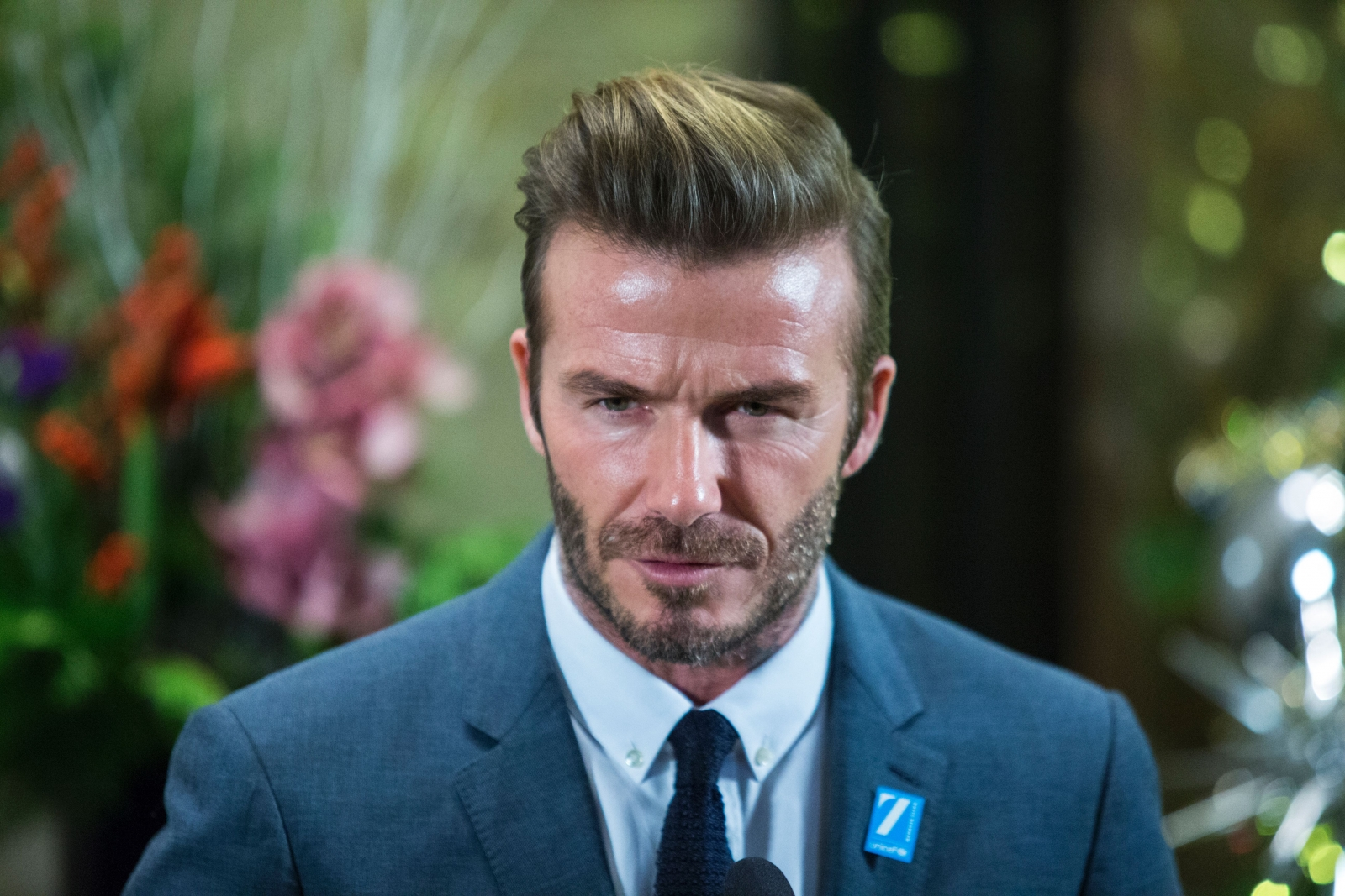 David Beckham reportedly confronted Ron Dennis during their New Year's ...