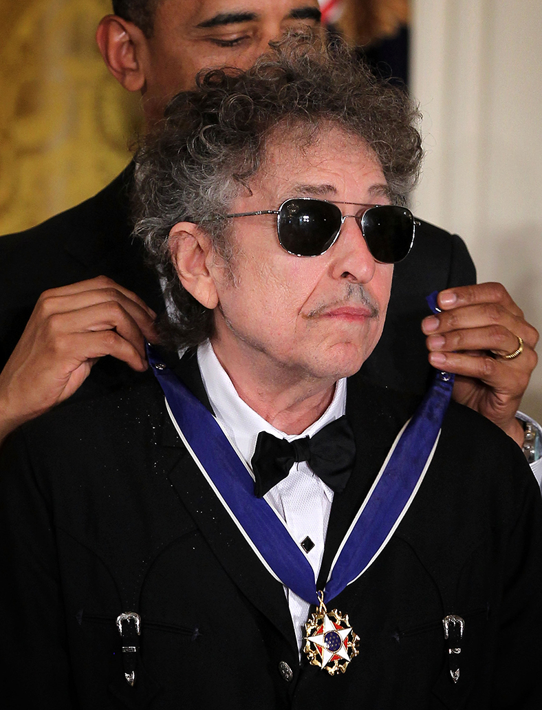 At last bob dylan will finally accept nobel prize medal for The dylan