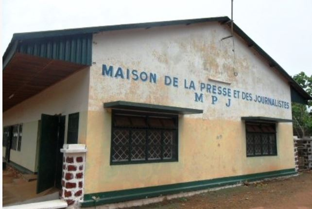 Journalists in Central African Republic