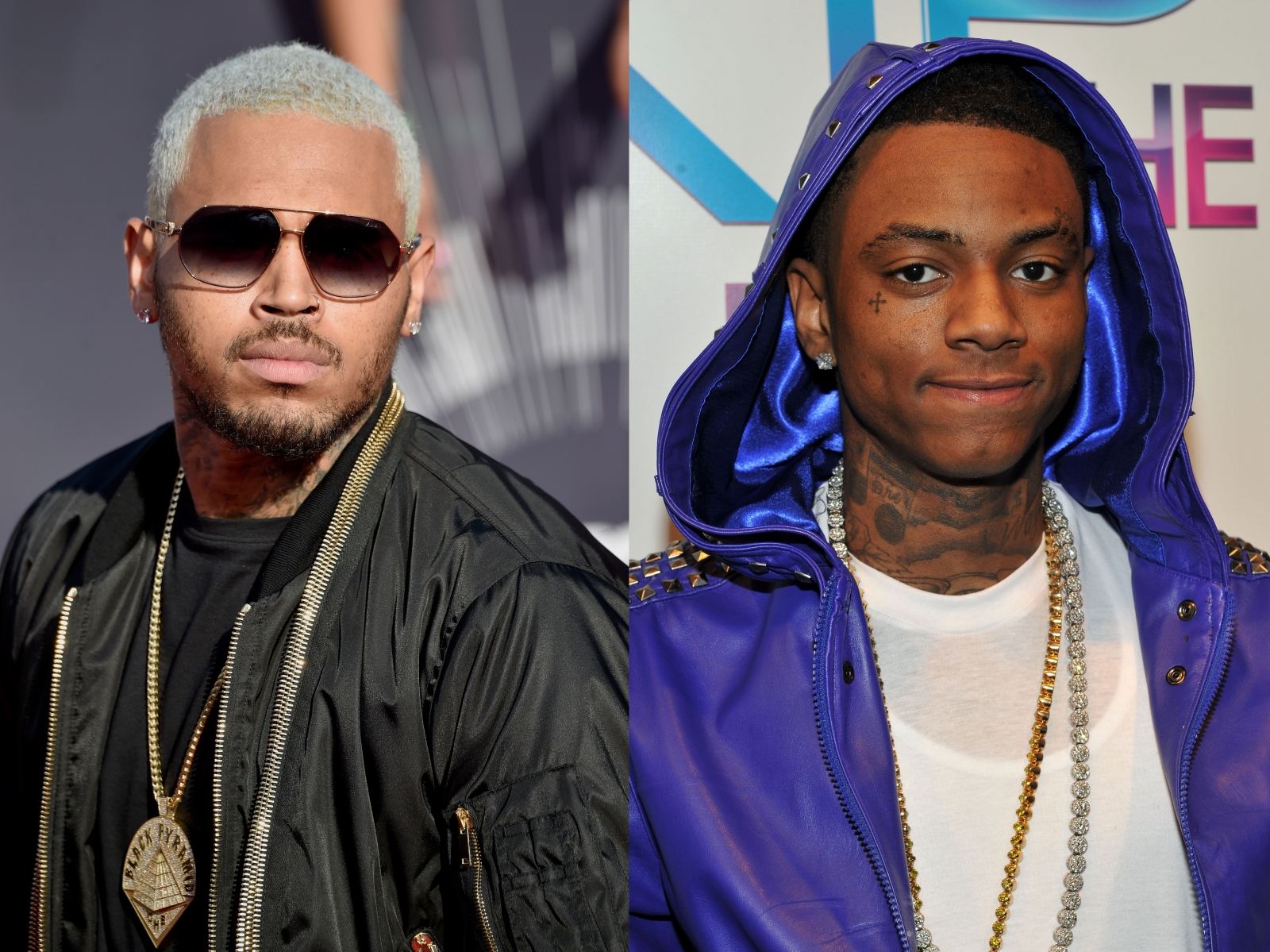 Chris brown and Soulja Boy