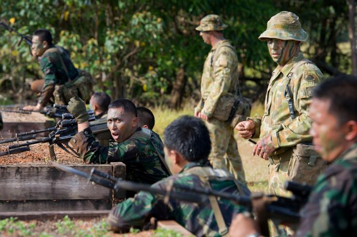 Australia Indonesia military row