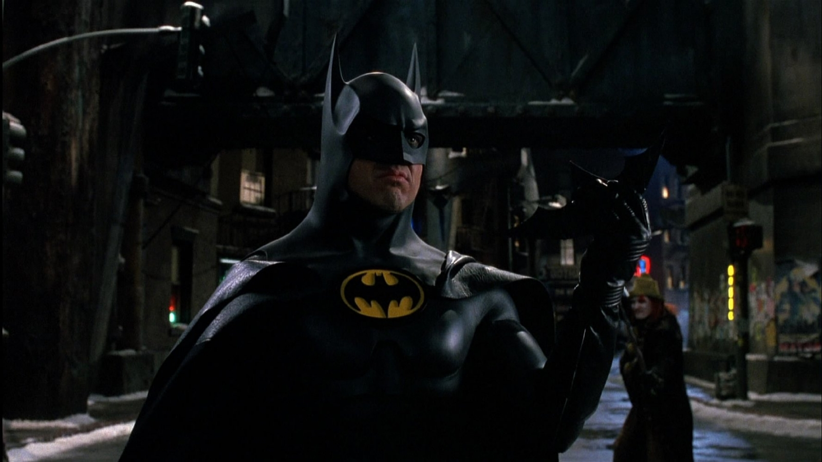 Michael Keaton in Batman Returns