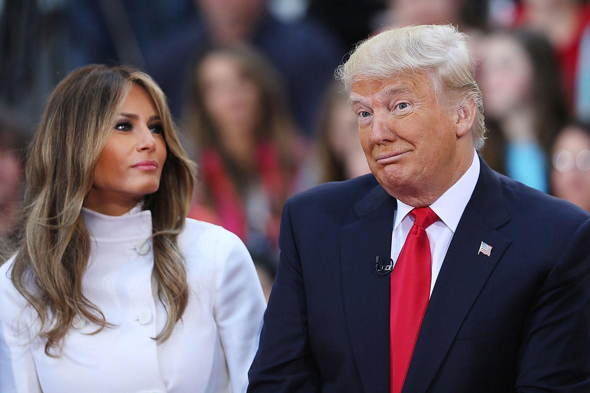 Melania Trump Slovenia
