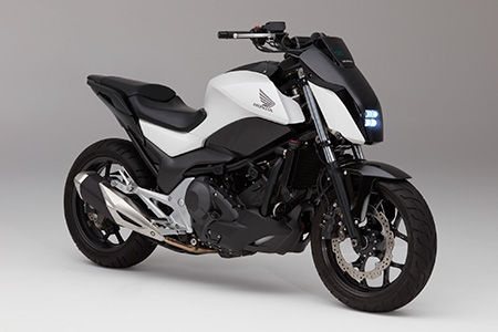 Honda's new self-balancing motorcycle comes with gravity defying and self-driving capabilities