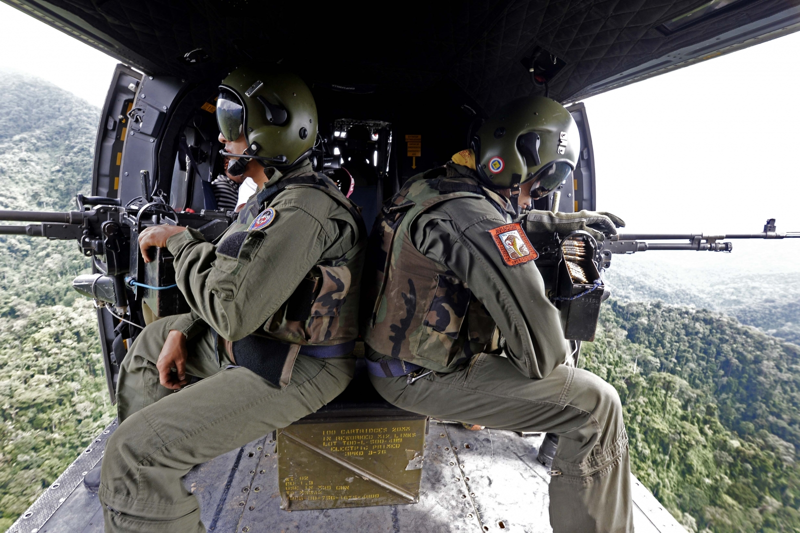 Venezuela helicopter